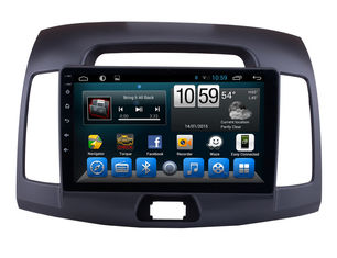 الصين WIFI Bluetooth Radio Android Car Media Player 9 Inch Hyundai Elantra 2007-2011 المزود