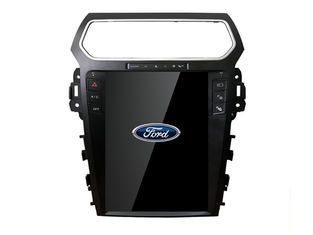 شاشة رقمية عالية الدقة FORD Tesla DVD Navigation System Bluetooth Explorer 2011-2019